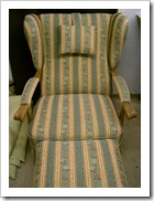 historischer Sessel