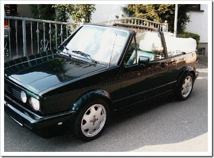 Verdeck für Golf 1 cabrio